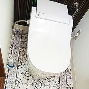 おしゃれなフロアとエコなトイレでわくわくできる空間に
