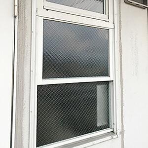 急な災害に備えて安全性の高い窓ガラスや扉に交換しました