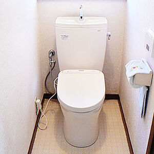 ピュアレストQRを使って以前よりスッキリしたトイレ空間
