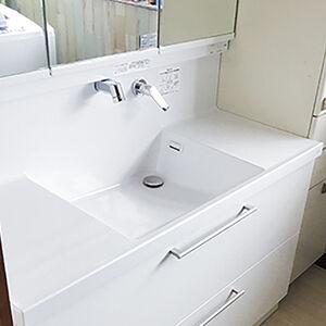 ハイグレードな洗面台「TOTO:オクターブ」に交換
