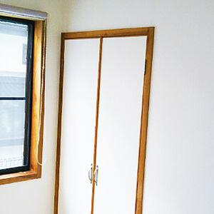 クロスを張替えて見た目も空気もきれいなお部屋に