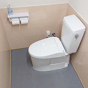 お手入れしやすく誰もが快適に使えるトイレ空間へリフォーム