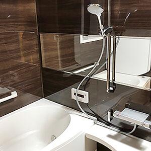 デザイン性に優れたアライズで、よりリラックスするお風呂に