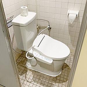 和式トイレをサンクリーンに交換して使い心地の良いトイレに