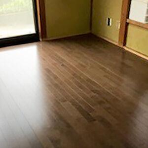 和の雰囲気を保ちつつ、フローリング床のお部屋にリフォーム