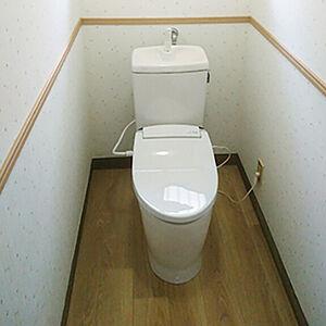 リフォームに対応した節水トイレがお掃除も時短してくれます